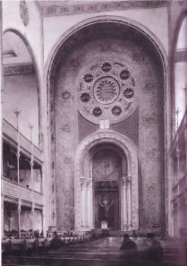 The Vienna Great Synagogue on Leopoldstrasse